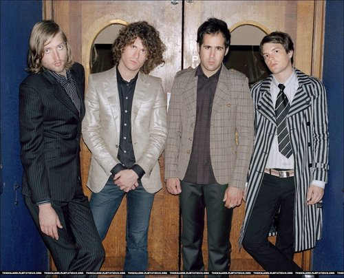 The Killers D.T. foto shoot