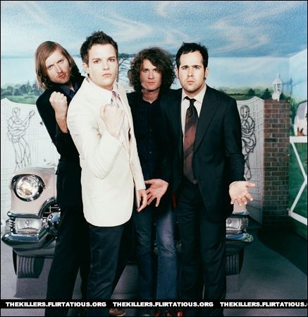 The Killers Hattem foto shoot