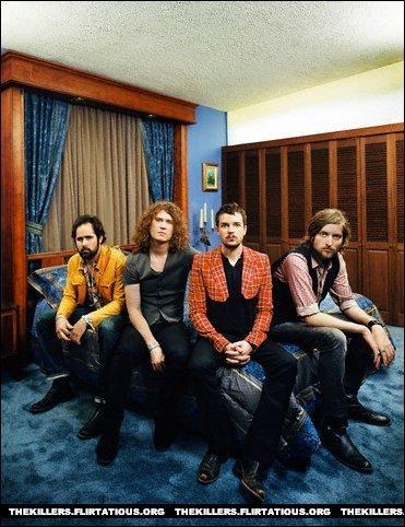 The Killers 사진 shoot