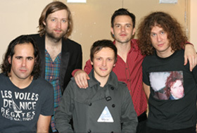 The Killers with Paul normansell