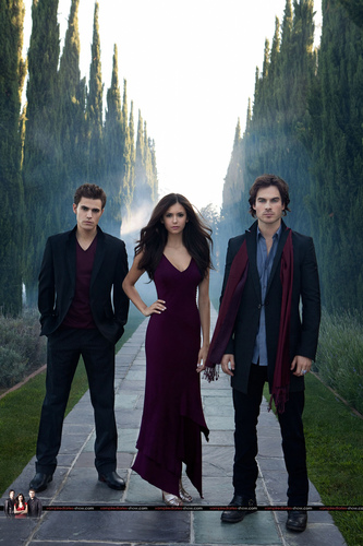 The Vampire Dairies HQ posters Season 1