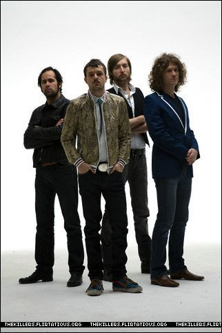 The killers foto shoot