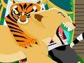 Tigress Bites Nala - tigress fan art