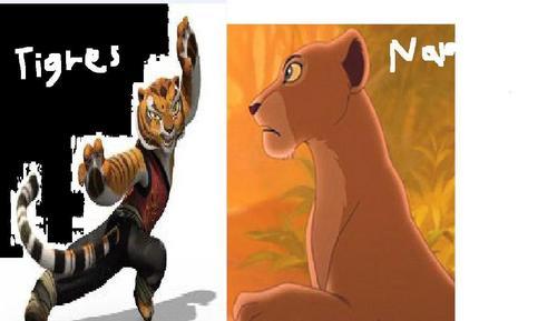 Tigress&Nala