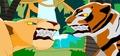 Tigress Ready to Fight Nala! - tigress fan art