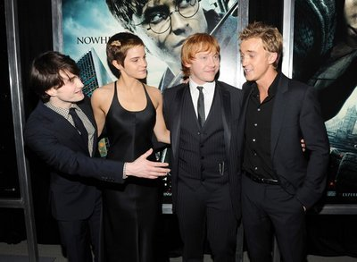 Tom Felton at the Harry Potter and the Deathly Hallows NYC Premiere- November 15, 2010