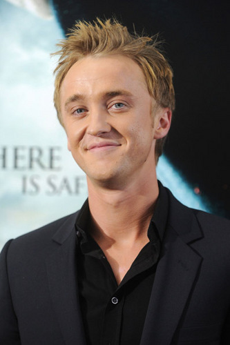Tom at the Deathly Hallows NYC Premiere