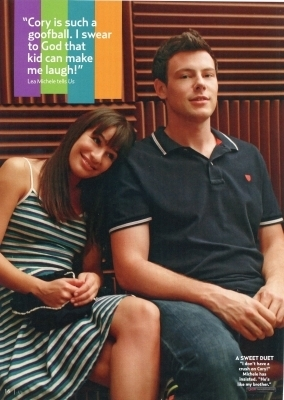 US Magazine glee Special Issue - November 2010