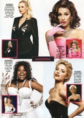 US Magazine glee Special Issue - November 2010