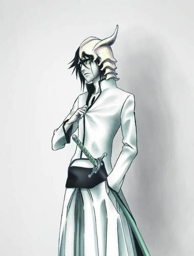 Bleach anime achtergrond entitled Ulquiorra