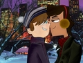Winter Love~ ♥ - tdis-noah-and-cody photo