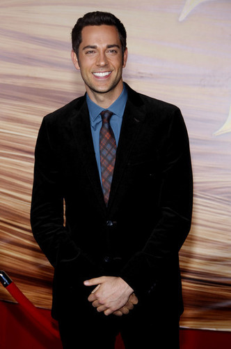 Zachary Levi @ the LA Premiere of 'Tangled'