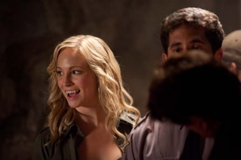 candice- Behind the scenes
