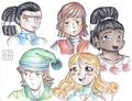 cast 2 - total-drama-island fan art