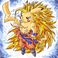 dragon ball z super pikachu