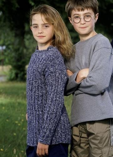 harry/hermione daniel/emma