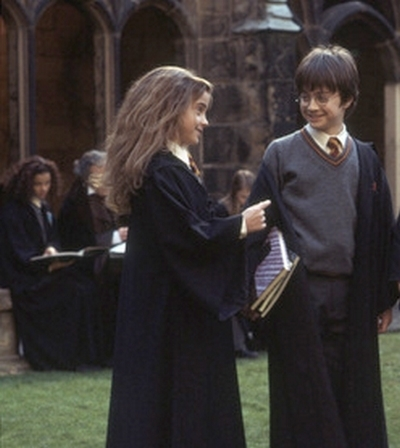 Harry and Hermione wallpaper called harry/hermione daniel/emma