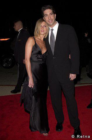 jennifer & david at the people's choice awards in 2001