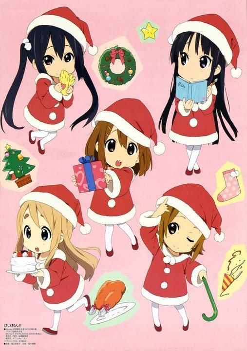 k-on!! christmas
