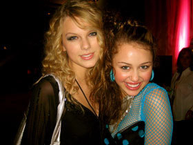 miley cyrus and taylor veloce, swift
