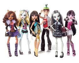 monster high gals