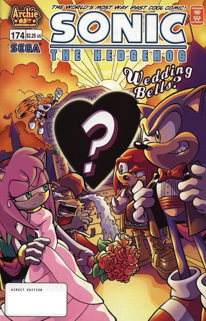 wedding AMY - SONIC COUPLES Fan Art (17041347) - FanpopAmy And Sonic Wedding