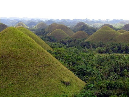 """Chocolate Hills"" in Bohol"