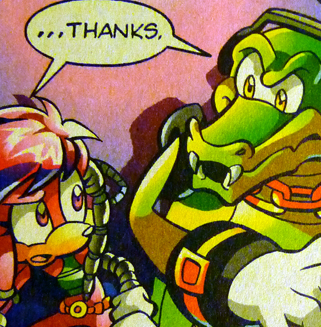 Team Chaotix (Archie) wallpaper with Anime entitled ...Thanks
