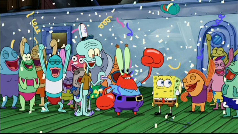 Spongebob squarepants movie the