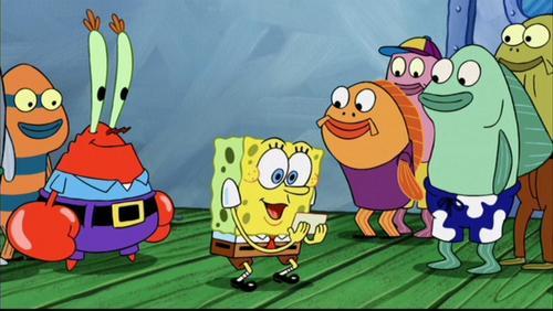 Spongebob Squarepants wolpeyper containing anime titled 'The Spongebob Squarepants Movie'