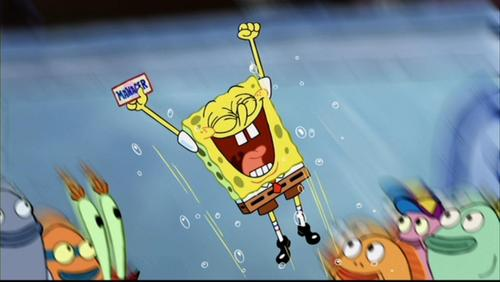 Spongebob Squarepants wolpeyper with anime called 'The Spongebob Squarepants Movie'