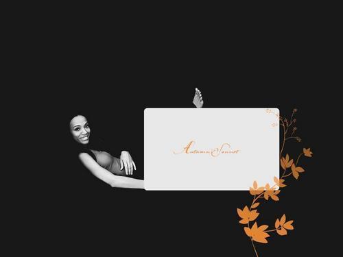 Zoe Saldana Hintergrund probably containing a sign titled ♥Zoe♥