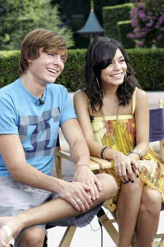 Zannessa wallpaper called 2007, Zac & Vanessa