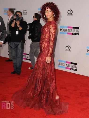 2010 American সঙ্গীত Awards,Red Carpet,November 21,2010,L.A