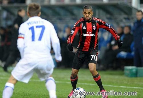A.C. Milan 's foto - Auxerre-Milan 0-2, Champions League 2010/2011