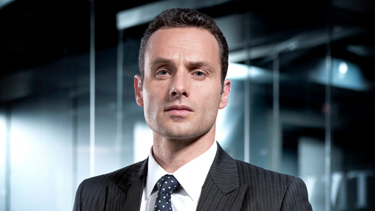 Andrew lincoln Hintergrund with a business suit, a suit, and a three piece suit titled AL