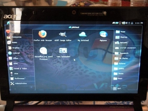 Acer & Jolicloud Linux