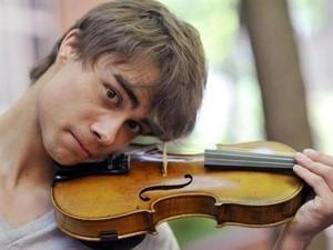 Alex and violin