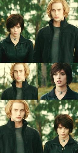 Alice & Jasper. ♥