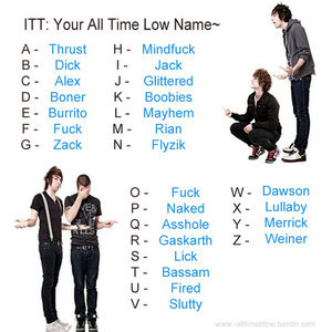 All Time Low name