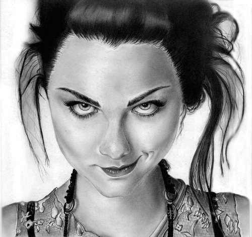 Amy Lee Drawing
