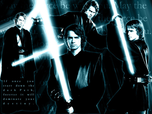 anakin skywalker wallpaper containing a fonte entitled Anakin Skywalker
