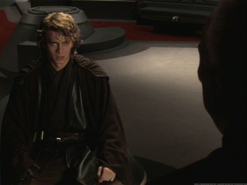 阿纳金·天行者 壁纸 probably with a business suit called Anakin Skywalker