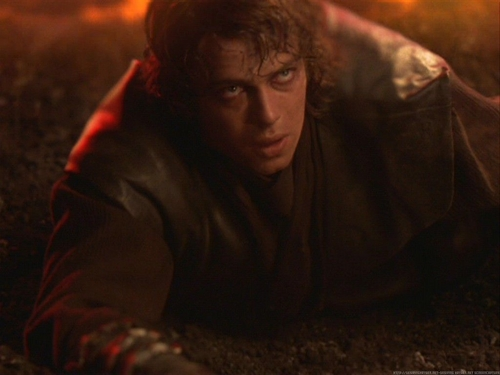 anakin skywalker wallpaper containing a fogo called Anakin Skywalker