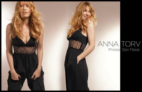 Anna Torv ~ Markt Beauty Photoshoot によって Don Flood