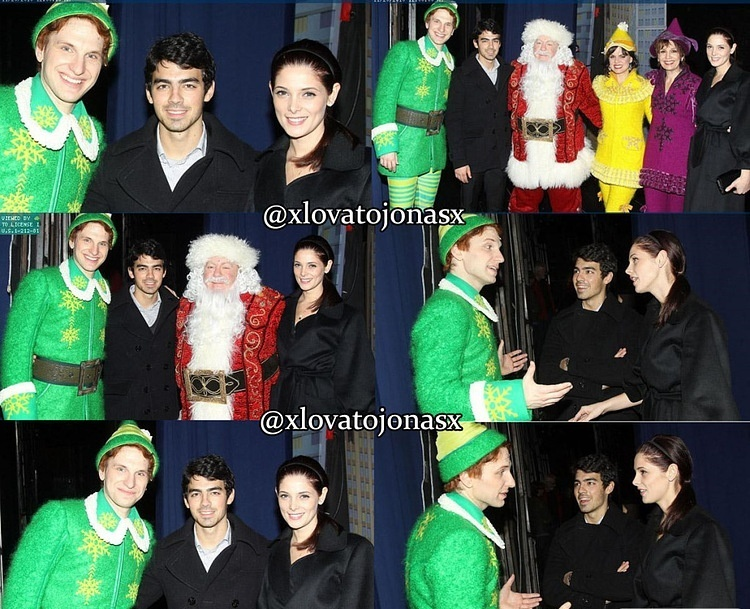 "Ashley Greene and Joe on the musical ""Elf"" (20/11/10)"