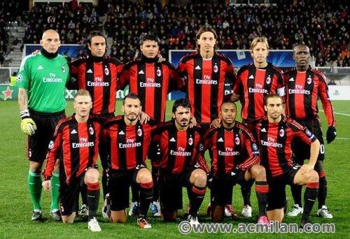 Auxerre-Milan 0-2, Champions League 2010/2011