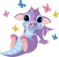 Awww it's a cute dragon!!! XD