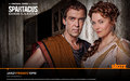 Batiatus & Lucretia - spartacus-blood-and-sand wallpaper