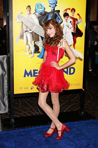"Bella At The ""MegaMind"" Premiere"